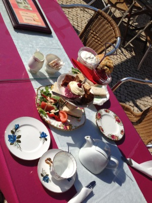 Afternoon Tea Brunch Lunch at Casa Do Largo | Old Village Vilamoura