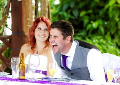 Groom Wedding Speech at Casa Do Largo | Old Village Weddings