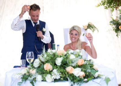 Grooms Speech at Algarve Wedding | Casa Do Largo Restaurant, Old Village Vilamoura