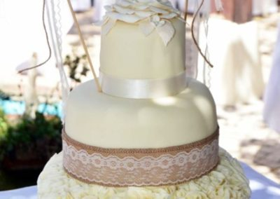 Algarve Wedding Venue Cake | Casa Do Largo, Old Village Vilamoura